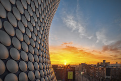 Sunrise at Selfridges - Highly Commended in the BLPA (Vemsteroo) Tags: life city morning urban beautiful fog architecture sunrise canon landscape photography birmingham cityscape competition selfridges british awards iconic f28 highly brum 6d 1635mm commended britishlifephotographyawards