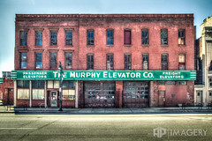 Murphy Elevator Co. (AP Imagery) Tags: abandoned architecture decay kentucky ky elevator historic company louisville passenger freight murphy