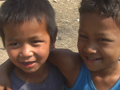 Happy Kids on Inle Lake