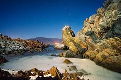 The Beach (Robelier Photoexplorer) Tags: ocean chile longexposure sea beach southamerica water night stars noche coquimbo mar agua playa estrellas sudamerica elqui largaexposicion lagunillas nortechico regiondecoquimbo alvarorojas