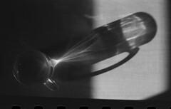 (gabrielagleizer) Tags: shadow bw film glass analog israel shadows tea jerusalem yashica analogica
