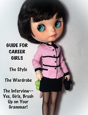 "Blythe-a-Day March#4 Grammar & #9 Barbie: Nylah & ""Career Girls"""