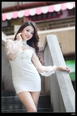 nEO_IMG_DP1U3491 (c0466art) Tags: show street light portrait west girl beautiful face female canon nice asia pretty outdoor body gorgeous taiwan center line figure attractive devil taipei hip charming curve roung perfecy 5d2 c0466art