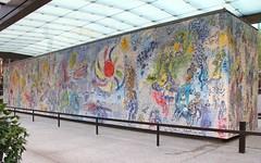 The Four Seasons I (hansn) Tags: usa chicago art artwork mosaic konst fourseasons chagall mosaik marcchagall thefourseasons konstverk defyrarstiderna