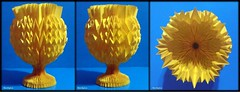 Paper Goblet With Fractal Folds Horizontally 7/13 (NeoSpica / NeoLiveArt) Tags: geometric digital paper design origami structure vase fold curved tessellation folding papercraft chalice goblet pleated corrugations parametric pleat оригами 折纸 кубок 纸艺 fractalfolds parametricfolding techniquesfolding origamigoblet 摺紙杯 бумагаискусства कागजकला papergoblet