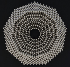 Concentric Nonagon Rings (Mathnetism) Tags: magnets ring zen concentric nonagon neodymium