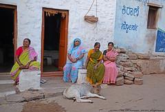 LIFE IN THIS LITTLE VILLAGE (GOPAN G. NAIR [ GOPS Photography ]) Tags: street india photography photo karnataka badami gops gopan gopsorg gopangnair gopsphotography