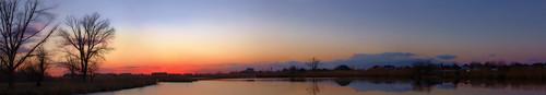 Комсомольский парк, вид с моста ©  fly_jib