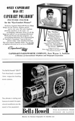 Capehart TV / Bell & Howell Movie Camera (dok1) Tags: 1954 nationalgeographic dok1