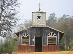Church in Paduang Refugee Village