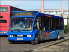 Arriva 1453 (YJ06 FXS) (Colin H,) Tags: bus church kent 10 group solo service harlow network essex langley arriva thameside 2015 ibp optare tgm m950 1453 fxs ipswichbuspage yj06 yj06fxs networkharlow colinhumphrey