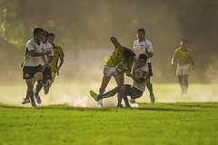 (Isaac Chiu5433) Tags: sports rugby dust sunlight power