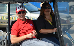 NASCAR Quaker State 400 - Kentucky Speedway - 7/9/2016 (rbatina) Tags: rubbertoe nascar sprint cup race greg biffle kentucky speedway ky track sparta day stock car racing outside outdoors july 9 9th 2016 792016 quaker state 400 auto racecar series pit road garage access pass hot summer driver appearance hauler rv bus area parking candid golf cart kart sidebyside sbs vehicle personal transportation