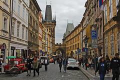 Entrance to Charles Bridge in Prague (travelmag.com) Tags: street czech prague historic charlesbridge