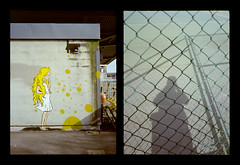 2016-04--05 - Olympus Pen EE - Kodak Ektar 100-06 (sarajoelsson) Tags: city urban streetart color film analog pen spring diptych sweden stockholm snapshot olympus ishootfilm analogue halfframe everydaylife filmgrain vardag 2016 filmphotography penee filmisnotdead halvformat diptyk teamframkallning digitizedwithdslr