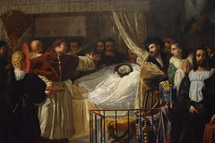 Raphael on His Deathbed (Calvin Faunus) Tags: ohio art painting artmuseum neoclassicism neoclassical oberlin oberlincollege frenchpainting allenmemorial bergeret pierrenolasquebergeret raphaelonhisdeathbed