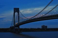 Verrazano-Narrows Bridge (Triborough) Tags: park nyc newyorkcity ny newyork nationalpark nps statenisland nationalparkservice verrazanonarrowsbridge richmondcounty vnb fortwadsworth