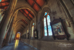 Sacred Heart Cathedral (我的臉書粉絲 : LIU Photography 傳傳) Tags: travel church canon landscape photography catholic sydney australian australia melbourne brisbane chamber hdr 1635l 1dx