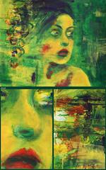 Green moment, acryl 100 x 70 cm (Sandrof10) Tags: green head moment sandro fiala sandof10 acrylic romance womam womanportrait