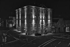 later in the evening 1 (RadarOReilly) Tags: strase street strasenfotografie streetphotography sw schwarzweis bw blackwhite monochrome iserlohn nrw germany nacht night