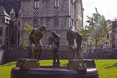 The light (dani_bienes) Tags: belgica belgium garden church castle children light luz sun green belive faith