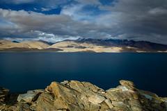 Tso Moriri (Dhaval Motghare) Tags: tso moriri leh ladakh tsomoriri landscape longexposure mountains clouds lake travel india