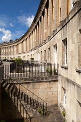 Upstairs, Downstairs | Royal Crescent | Bath-17 (Paul Dykes) Tags: bath somerset uk england georgian johnwoodtheyounger horn column 18thcentury eighteenthcentury gradeilistedbuilding staircase