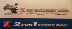 Kmart Kids Race Against Drugs (Retail Retell) Tags: kmart kmartphotocenter kodak 2for1 1998 90s photo sleeve coupons kmartkidsraceagainstdrugs 1990s envelope