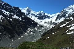 moraine, glacier de Zinal (bulbocode909) Tags: nature suisse vert bleu glaciers neige moraines paysages valais montagnes zinal