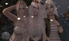 Glamrus Teens . Summer Nights AD (Glamrus) Tags: cute teens group pose together friends family slpose glamrus glamrusposes expore indieteepee indie teepee new event events slevents adorable young adults smile explore outdoor summer