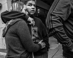 Arch Street, 2016 (Alan Barr) Tags: street people blackandwhite bw philadelphia monochrome mono blackwhite arch candid streetphotography sp streetphoto gr ricoh archstreet 2016