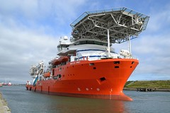 Nor Da Vinci Blyth 120816 (silvermop) Tags: ship boats ships sea offshorevessels offshore port river blyth nordavinci