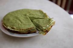 DSCF3378 (Jolene Jiang) Tags: summer ny cake dessert baking homemade crepe sweets fujifilm matcha greentea amateur creampuff millecrepe x100s