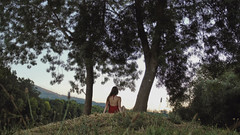 202/366: by myself (Andrea  Alonso) Tags: me selfportrait back espalda tree alone soledad 366 365