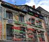 Une eau plate s'il vous plaît ;-) ! (Milucide) Tags: hasselt drugstore cafébrasserie marques bièresbelges lettres façade limbourg belgïe belgique boissons alcools