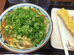 Curry Udon from Marugame Seimen @ Roppongi (Fuyuhiko) Tags: curry udon from marugame seimen roppongi カレー うどん 丸亀製麺 六本木 tokyo 東京