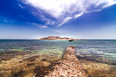 THE LOST ROAD (Tampier) Tags: summer italy sicily island sky sea