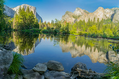 Yosemite (Riddhish Chakraborty) Tags: sierranevada mountain yosemite valley elcapitan cathedralrock nationalpark reflection merced nature outdoorsphotography park