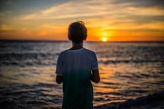 Soir d'horizon (PaxaMik) Tags: horizon sunset soleilcouchant soleil soir evening mer ocan ocean atlanticocean atlantique silhouette orange