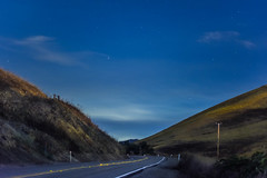 the long empty road ahead (pbo31) Tags: california nikon d810 color july 2016 summer boury pbo31 bayarea livermore eastbay alamedacounty road empty country stars long blue fog night dark