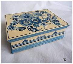 szkatułka (gawewka) Tags: decoupage szkatułka pudełko skrzyneczka