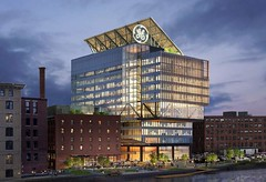 the new GE building makes Boston look like Europe (scleroplex) Tags: publicity handout