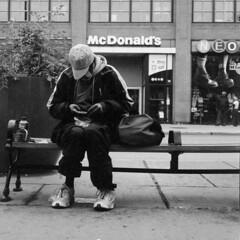 Enough Change for McDonald's? (Man-Wei (catching up)) Tags: rollei rolleiflex 35e zeiss planar ottawa