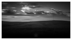 Sky High (picturedevon.co.uk) Tags: dartmoor nationalpark devon princetown sunset summer sky landscape fineartphotography clouds outdoors blackandwhite unitedkingdom england countryside