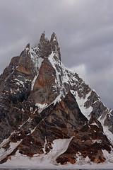 Karpogoro: Sosbun Brakk under threatening skies (Shahid Durrani) Tags: snow lake trek biafo glacier karakorams gilgit baltistan pakistan