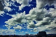 20160830_DP0Q5457 (NAMARA EXPRESS) Tags: landscape sky cloud blue weather deepsky deepblue evening summer fine outdoor color foveonclassicblue toyonaka osaka japan foveon sigma dp0 quattro wide ultrawide superwide namaraexp