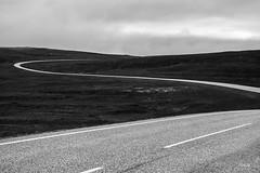 Road in Magerya island, Finnmark (Tobia Scandolara) Tags: strade route ruta carretera strada away ontheroad blackandwhite monochrome outdoor abstract road magerya finnmark norway norge norvegia tobiascandolara tobia scandolara landscapes minimal minimalism bw