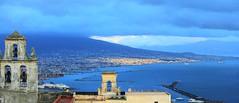 Panorama (Marina Spena) Tags: nature napoli belvedere storm tempesta mare sea landscape tag italia