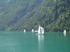 Segelboote am Achensee (dietmar.schuler) Tags: achensee