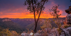 Asgards View Sunrise.jpg (Gary Hayes) Tags: australia sunsrisesunset mountvictoria grosevalley landscape cloudscapes newsouthwales bluemountains